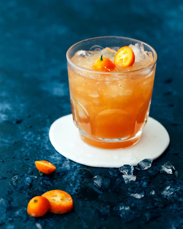 Earl Grey Mocktail With Grapefruit And Honey