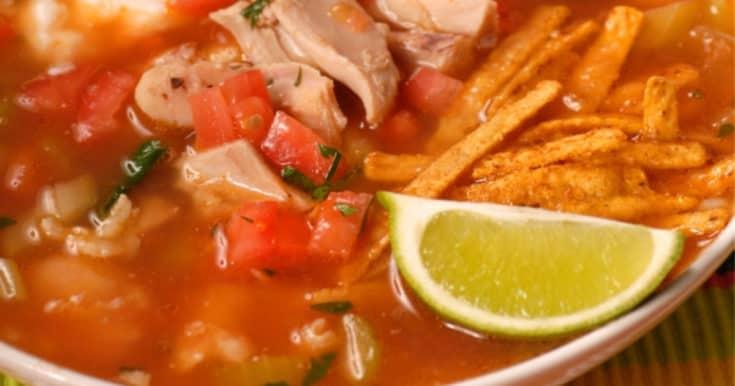 Easy Chicken Tortilla Soup {Crock-Pot Recipe}