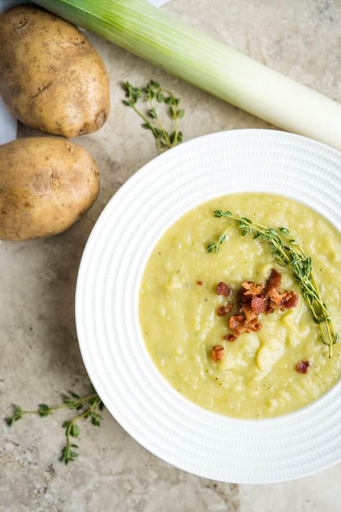 Irish Leek & Potato Soup