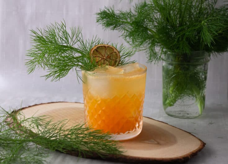 Mandarin Fennel Mocktail