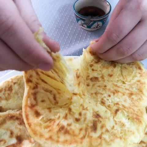Msemmen Batbout Bread