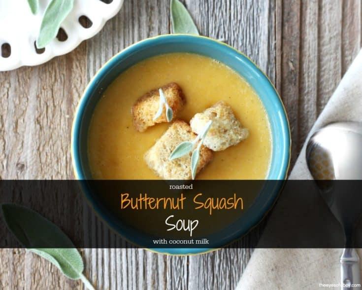 Butternut Squash Soup with Coconut Milk