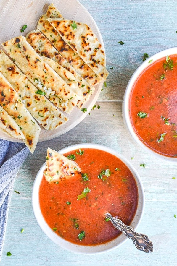 Spicy Indian Tomato Soup