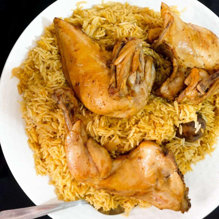 Yemeni Chicken Mandi Recipe