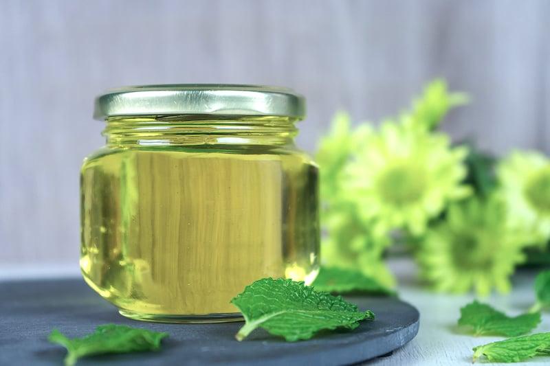 DIY Mint Syrup Recipe