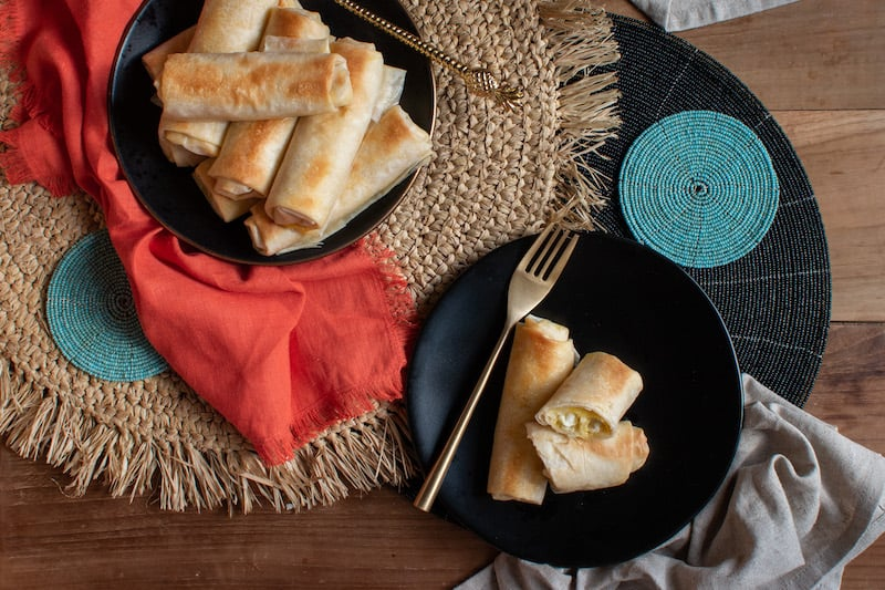 Moroccan Cheese Briouats