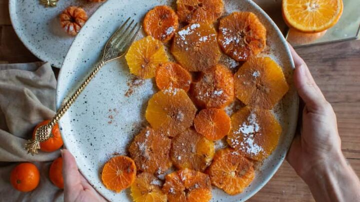 Moroccan Oranges with Cinnamon