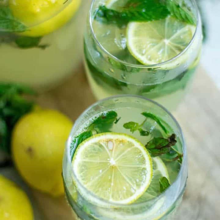 Lemon Mint Iced Tea