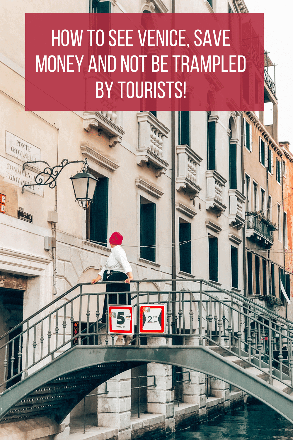 Save money and avoid the crowds when you visit Venice, Italy.