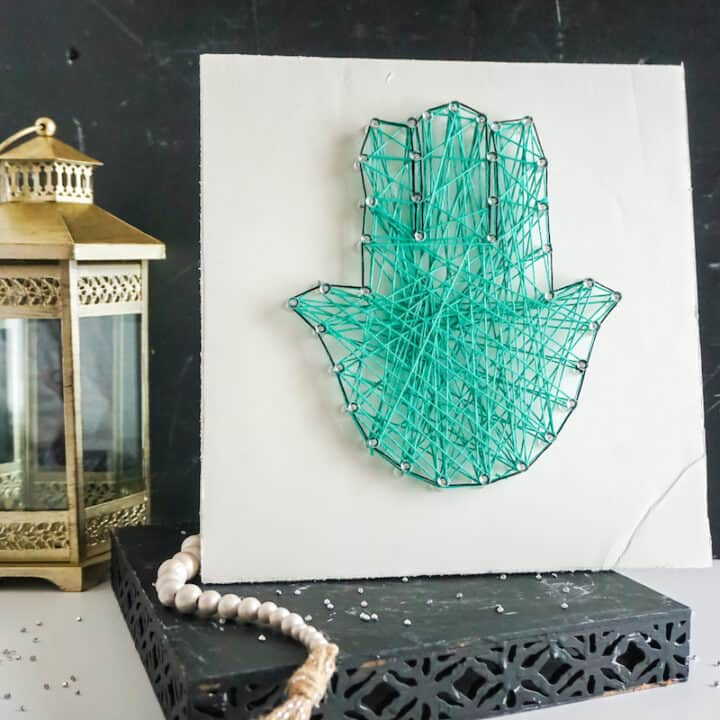 Khamsa String Art
