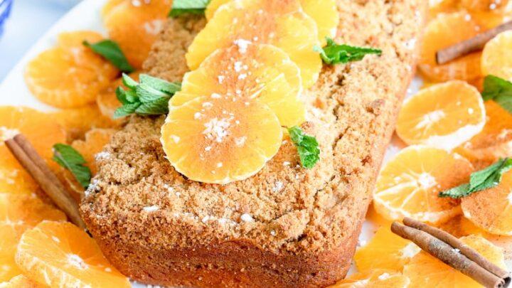 Moroccan Orange and Cinnamon Crumb Cake