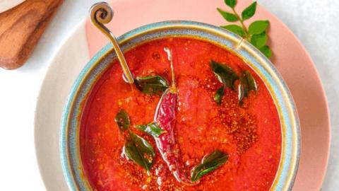 Super Easy Tomato Chutney