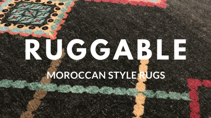 Ruggable Review: The Best Moroccan Style Washable Rugs