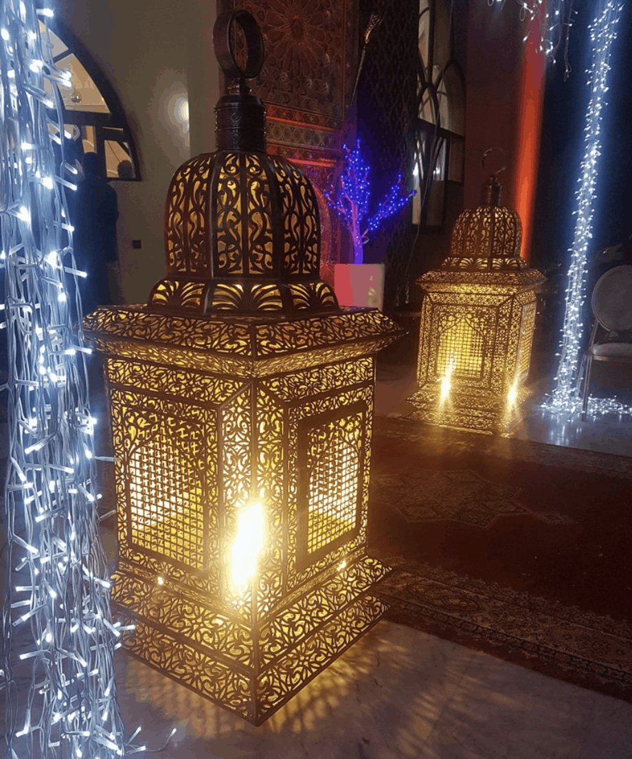 Get The Look Moroccan Lamps And Lighting Marocmama