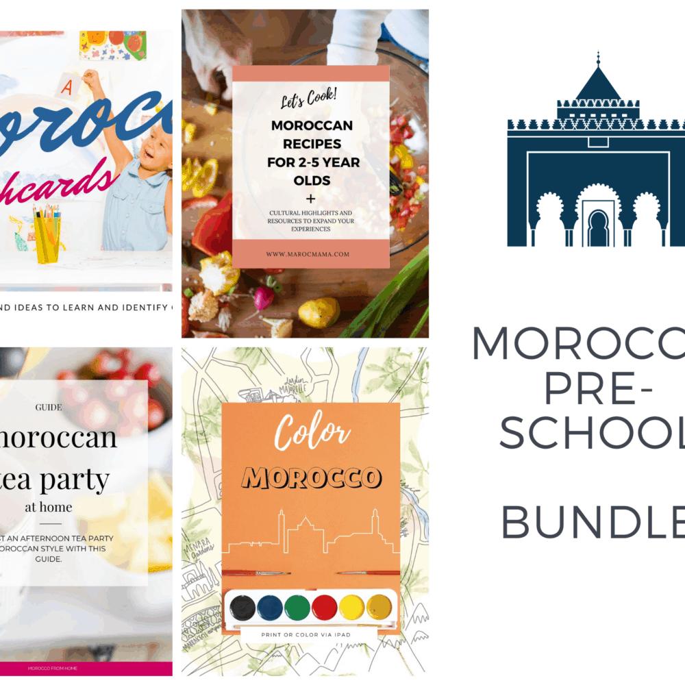 Moroccan Preschool Bundle