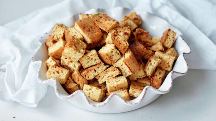 Gluten-Free Italian Croutons for Stuffing