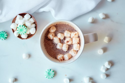 Mint Chocolate Hot Cocoa Ball