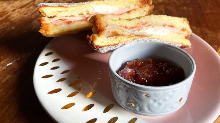 Melt in Your Mouth Halal Monte Cristo Sandwich with Quince Jam