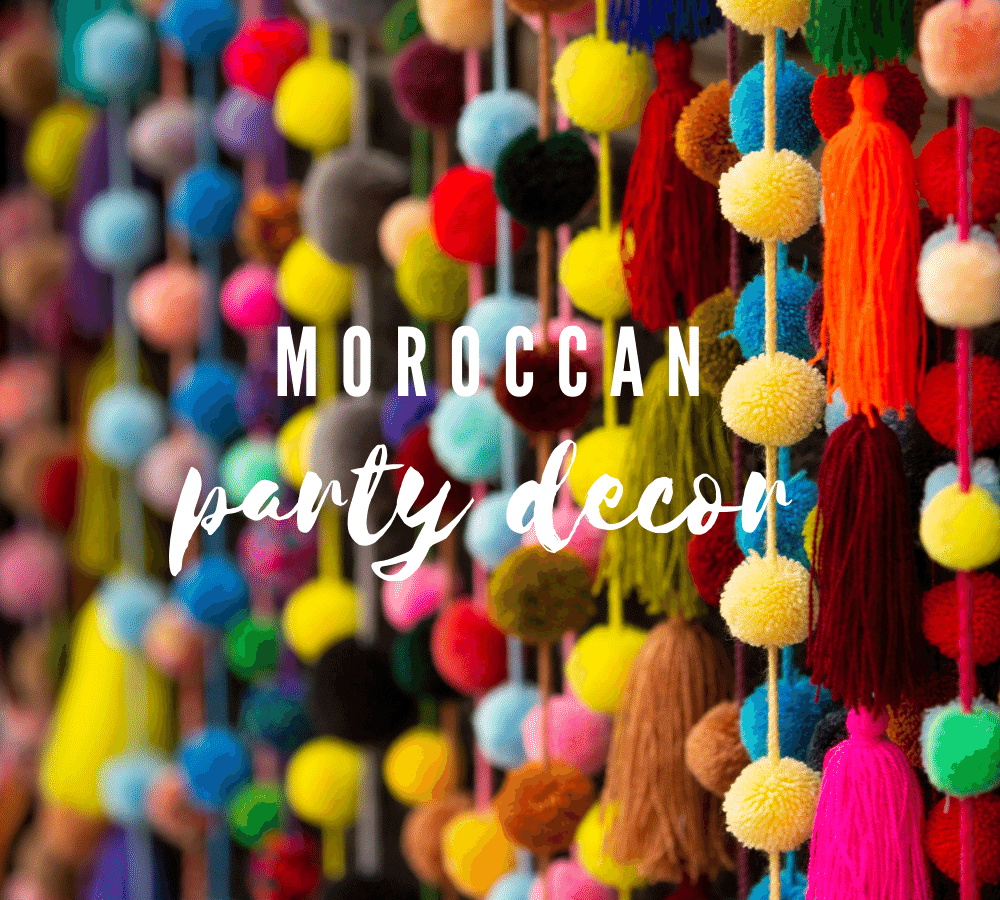 Let's Party! Moroccan Party Decor Ideas for Your Soiree!