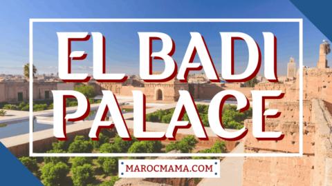 A Glimpse at the El Badi Palace, Marrakech