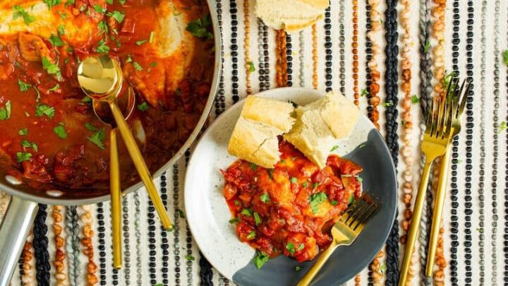 Jewish Moroccan Fish Chraime Recipe