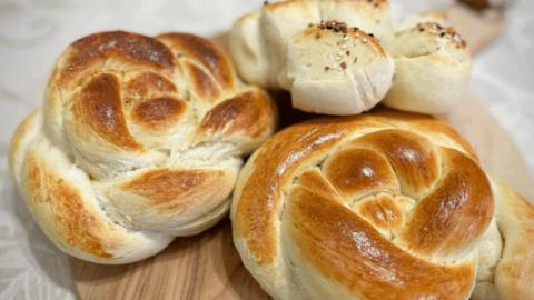 Moroccan Challah Bread Made Two Ways