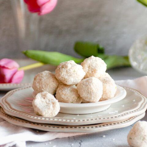 No Bake Coconut Mimouna Cookies