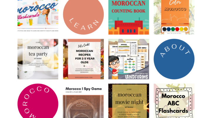 Morocco Early Learning Activity Bundle