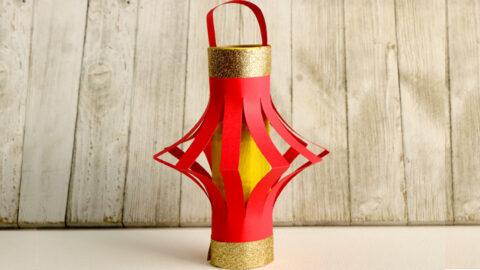 Easy Ramadan Lantern Craft for Kids