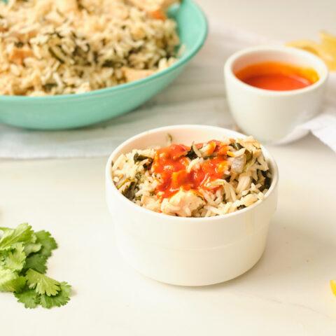 Tunisian Djerba Rice with Chicken