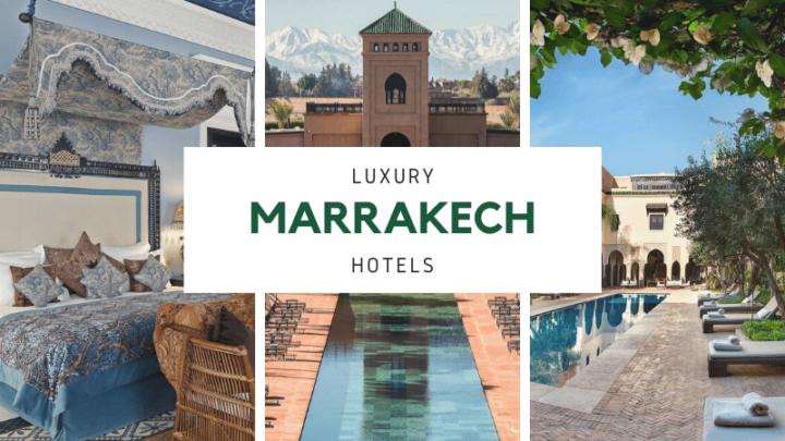 The 6 Best Luxury Stays in Marrakech