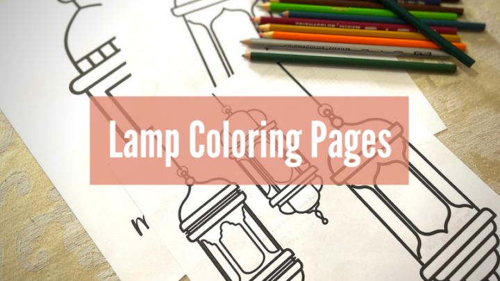 Moroccan Lamp Coloring Pages