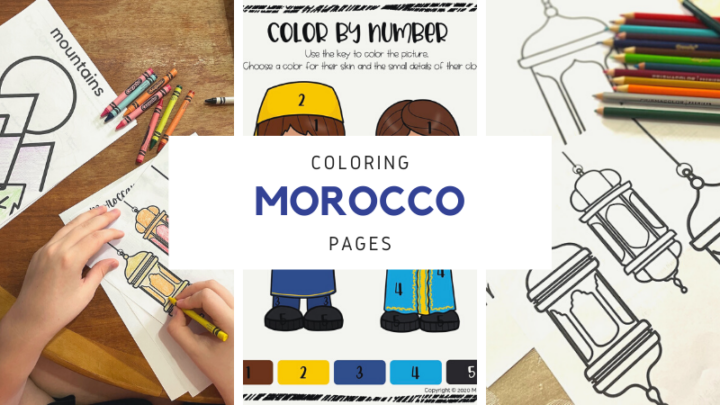 Fun Morocco Coloring Pages for Kids