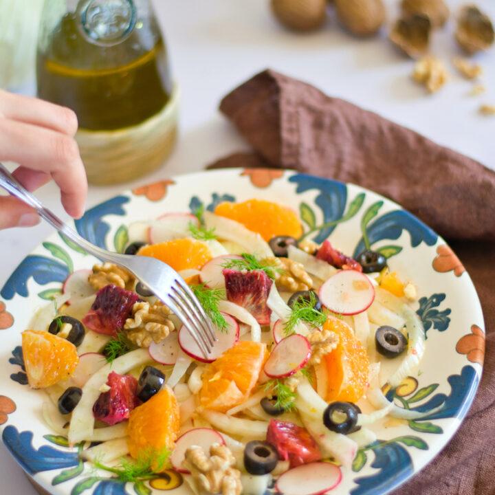 Mediterranean Fennel & Orange Salad