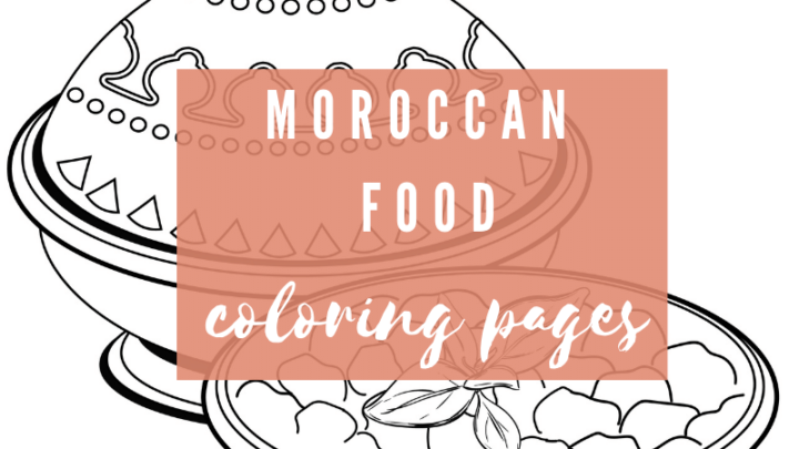Moroccan Food Coloring Pages