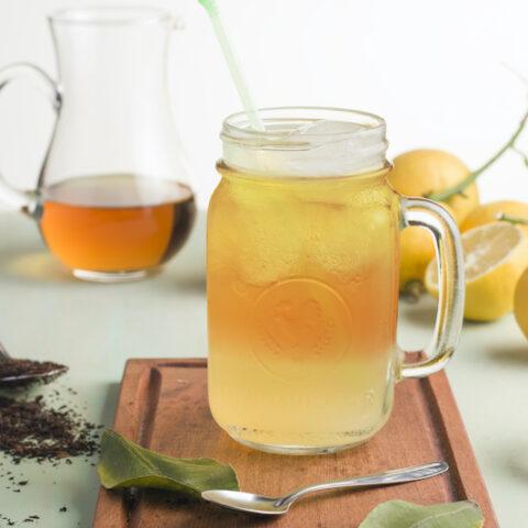 Cold Brew Lemon Iced Tea