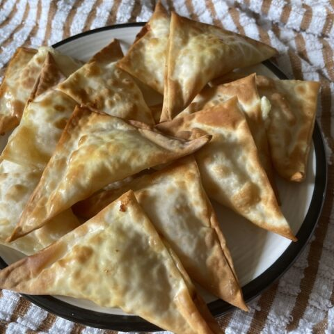 Air Fryer Moroccan Cheese Briouats